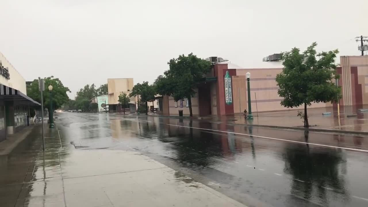 Memorial Day weekend likely to be wet. Will it mean a rain record for Fresno?