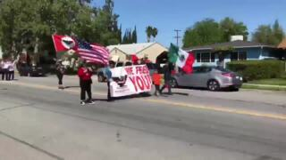 Dozens in Livingston march for immigrants, farm workers, Dreamers