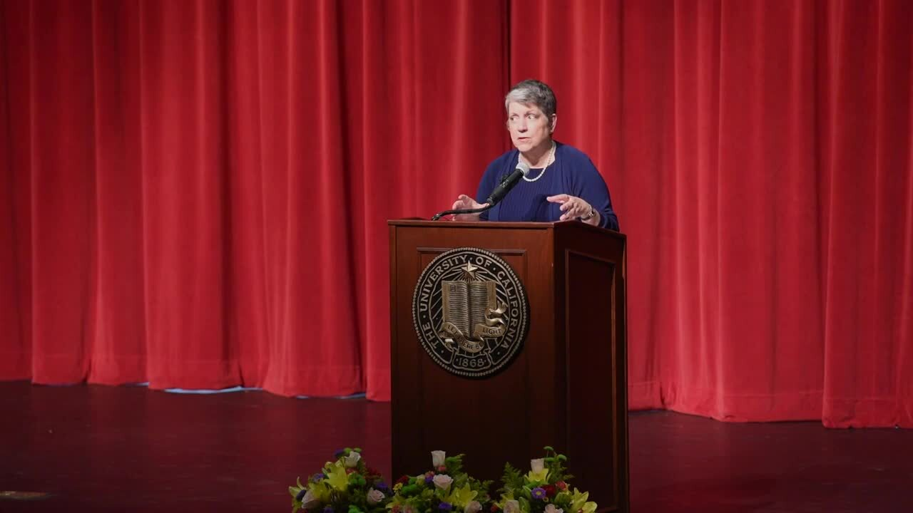University of California President Janet Napolitano steps down