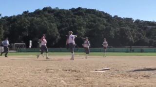Watch standout Atascadero pitcher throw another no-hitter — and celebrate in style