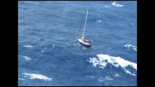 Couple stranded in Pacific while sailing from Hawaii to Bellingham, rescued by Coast Guard