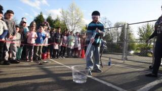 Young scientists stage exciting explosions & eruptions at Madison School's Science Expo
