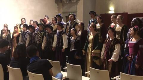 'We create magic': Davis High School choir shines during tour of Italy