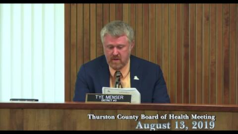 Thurston County Board of Health proclaims August Immunization Awareness Month