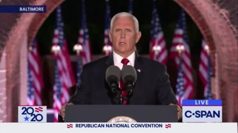 Accepting renomination, Pence says 'miracle' of a coronavirus vaccine is coming soon