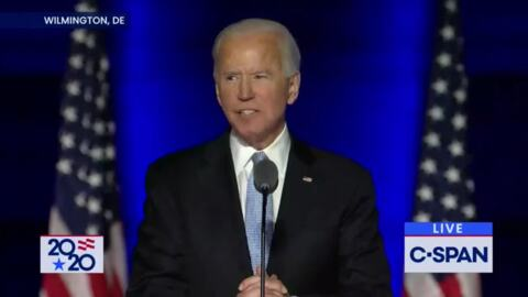 Joe Biden to teachers: you're going to have one of your own in the White House
