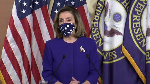 """""""Russia is the villain here,"""" Pelosi says of investigation into foreign interference in US election"""