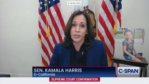 Kamala Harris says Supreme Court hearings are 'reckless,' Senate should focus on COVID-19 aid