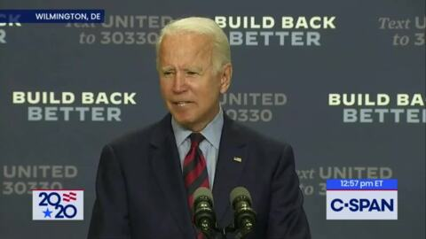 Will Joe Biden ever face tough questions during this campaign?