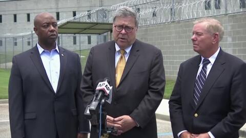 """Barr on Epstein, Acosta: """"I'm recused from that matter"""""""