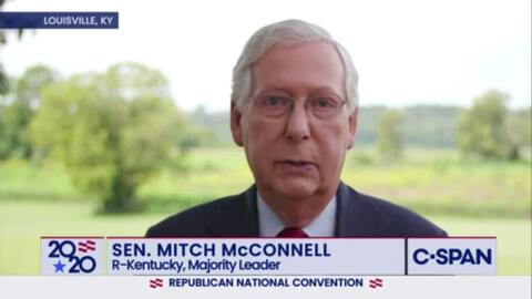 Poll shows Mitch McConnell up double digits on Amy McGrath in Senate race