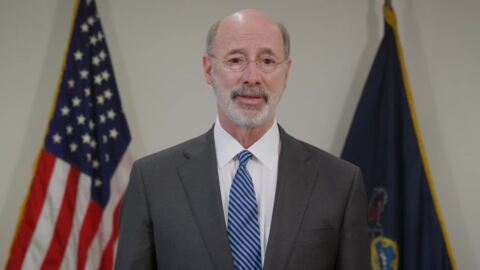 Gov. Wolf's message for Pennsylvanians on year anniversary of first COVID case