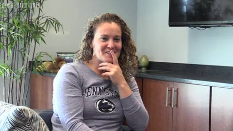 We got to know Coach Kieger and tested her Penn State knowledge