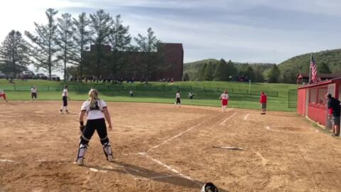 Bellefonte softball came from behind to beat Clearfield