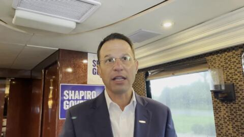 Josh Shapiro on how he'd see elections are safe, secure if elected governor of Pennsylvania
