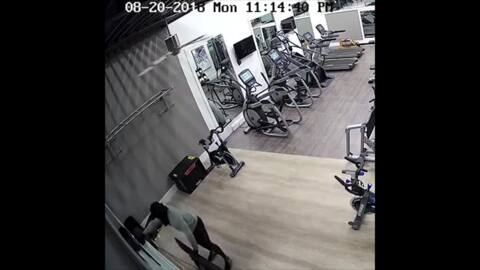 Clubhouse thief pretended to work out before stealing equipment over five days