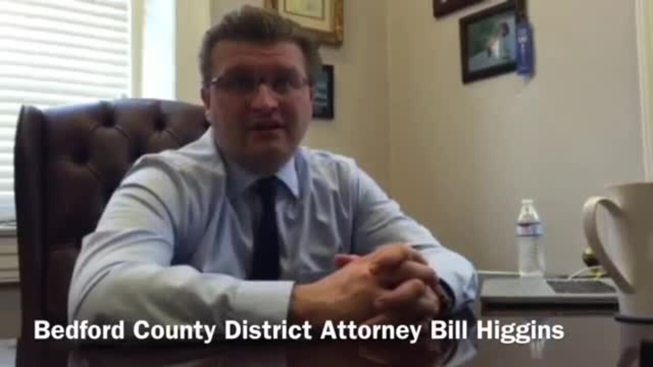Resigned Bedford County District Attorney Bill Higgins talks county