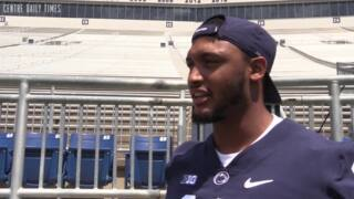 Shaka Toney has a number in mind for how many sacks he'd like the defensive end to make