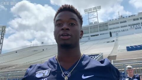 PSU wide receiver stronger and confident, ready to dominate