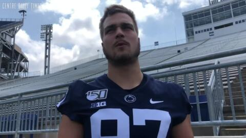 Why Penn State TE Pat Freiermuth's coaches, teammates believe he's poised for a 'terrific year'