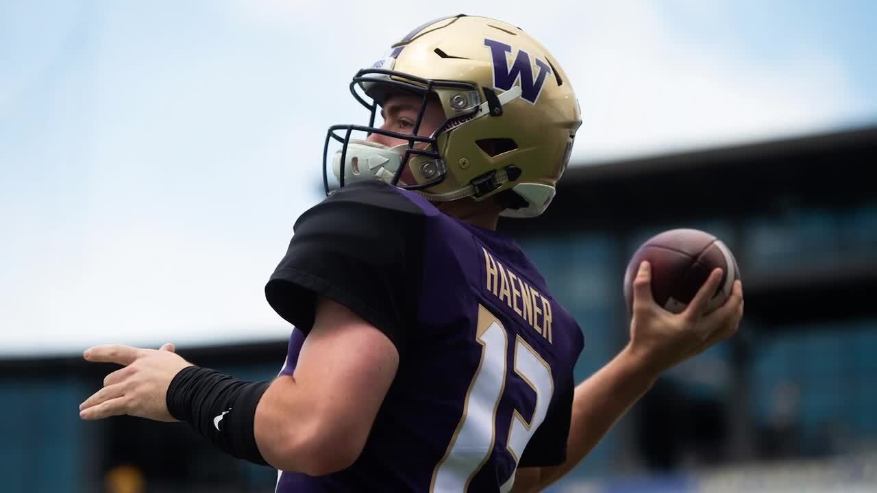 Jake Haener leaves UW after losing starting quarterback job