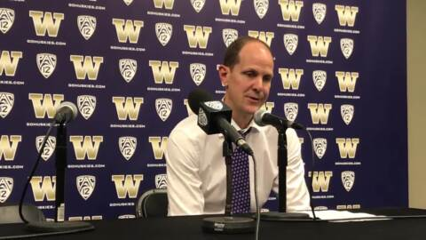 Losing big leads becoming a trend for Huskies