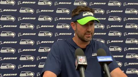 Play caller Brian Schottenheimer: no one with Seahawks' offense happy with the opener