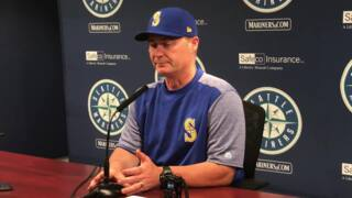 "Mariners manager Scott Servais on ""not a great way to spend a Sunday afternoon"""