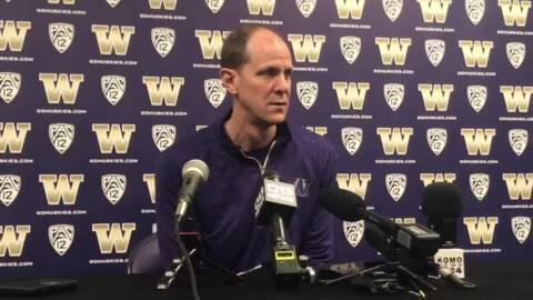 Against Washington State, Huskies looking to rebound from first Pac-12 loss