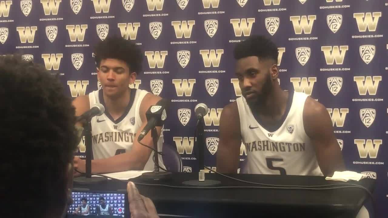 new concept be711 41e52 UW's Matisse Thybulle and Jaylen Nowell on Seattle Pacific ...