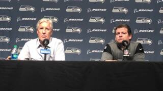 Pete Carroll answers if Seahawks needed to hear Colin Kaepernick's future protest plans before considering signing him as a backup QB