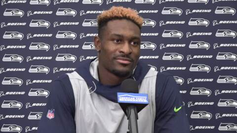 DK Metcalf on what motivates him, why he sees falling to Seahawks at end of 2nd round a blessing