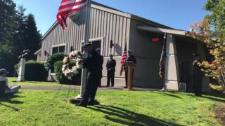 Fallen fire chief remembered on 10th anniversary of death