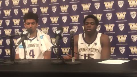 Huskies overcame scoring droughts against UCSB