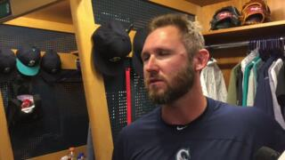 Mariners' Ryan Cook hadn't pitched in big-leagues in almost three years ... and strikes out first batter