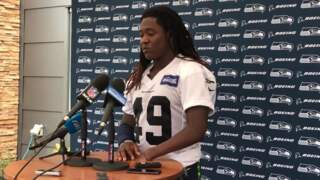 Shaquem Griffin on his first NFL game, how helpful Seahawks vets Bobby Wagner, K.J. Wright have been