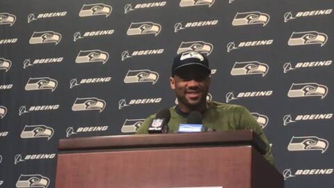 Russell Wilson on Aaron Rodgers and their many big Seahawks-Packers games of the past