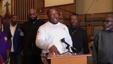 'We're tired of this.' Black community leaders speak after woman killed by officer.