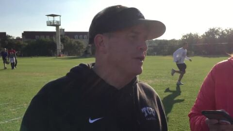 TCU's Patterson on Cheez-It Bowl: It's time for us to go, go, go
