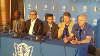 Rick Carlisle discusses the various positions Luka Doncic will play