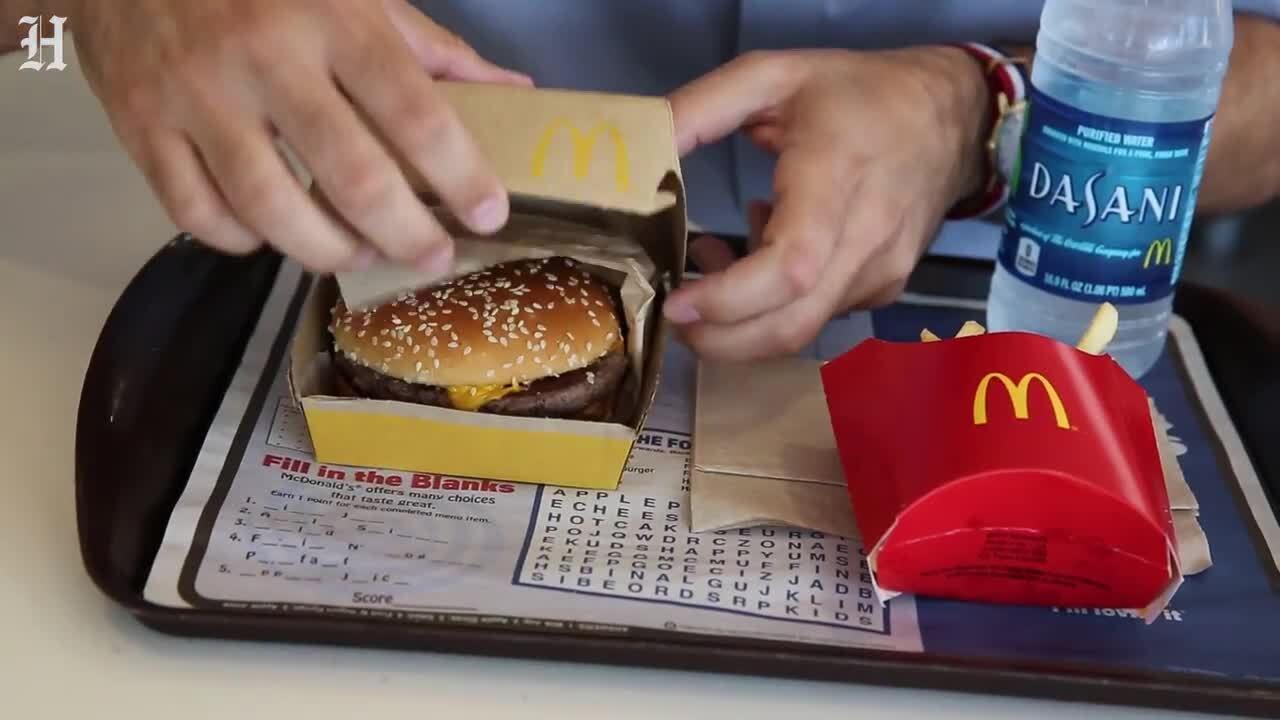 McDonald's new burger is not frozen, here's how it tastes | Fort Worth  Star-Telegram