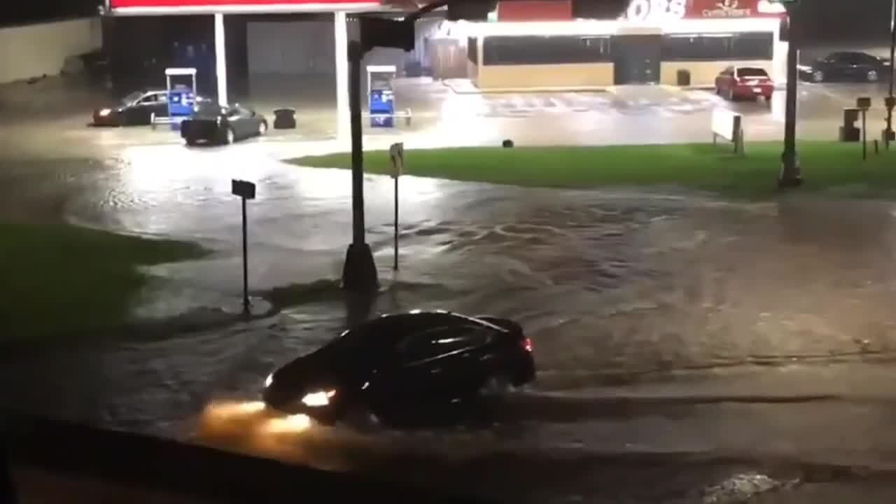 Here's what it looks like in Texas after Imelda dropped more than 2 feet of rain