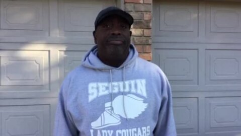 Lawrence Smith of Arlington talks about his grandson who was shot to death