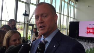Jerry Jones Jr. talks about new sports medicine facility at The Star