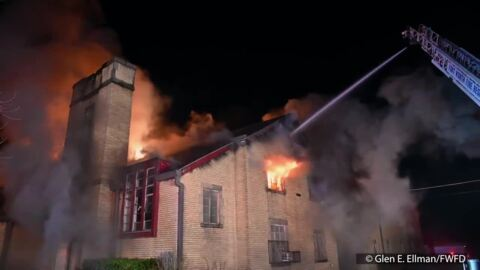Fort Worth church destroyed in overnight fire