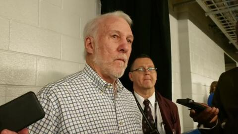 Spurs coach Gregg Popovich on today's NBA: 'We are all more spoiled than we used to be '