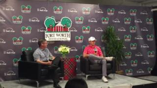 Jordan Spieth discusses PGA season at Fort Worth Invitational