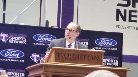 Tarleton State, athletic director celebrate historic move to NCAA Division I