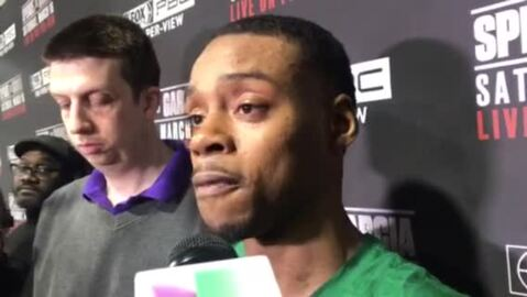 Errol Spence Jr. talks about his bout at AT&T Stadium vs. Mikey Garcia