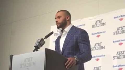 Dak Prescott describes his exchange with Eagles' Malcolm Jenkins